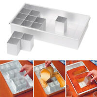Cake Baking Mould Number Tins Alphabet Letter Pan Aluminum Alloy Mold Large Tool