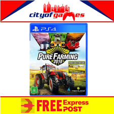 Pure Farming 2018 PS4 New Sealed Free Express Post In Stock