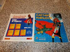 ALBUM CAPTAIN CAPITAN HARLOCK PANINI 1979 COMPLETO MOLTO BUONO/OTTIMO SERIE TV