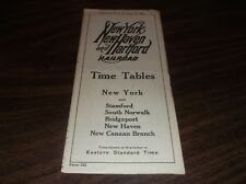 APRIL 1939 NH NEW HAVEN NYNH&H PUBLIC TIMETABLE FORM 222