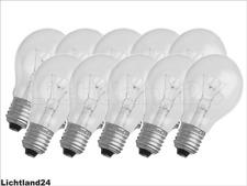Merkur Normallampe E 27 stoßfest klar 200 W
