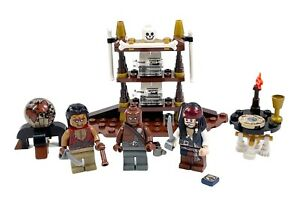 Lego Pirates of the Caribbean The Captain's Cabin 4191 100% Complete: **READ**
