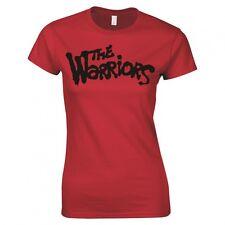 "THE WARRIORS ""MOVIE LOGO"" LADIES SKINNY FIT T-SHIRT"