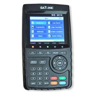 Digitales SAT Messgerät Satlink WS 6916 für DVB-S/S2 (HDTV)