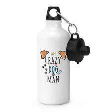 Crazy Hund Man Sport Getränke Wasserflasche