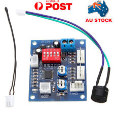 AU CPU PC PWM Fan Temperature Speed Controller Module High Temp Alarm 5V Buzzer