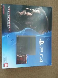 Sony PlayStation 4 500GB Video Game Console - Jet Black METAL GEAR SOLID V
