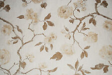 """Linen Rose"" furnishing fabric by John Lewis, Natural, by the metre"