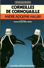 Livre Corneilles de Cornouaille  A. Adolphe Hallier book