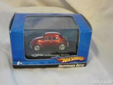Volkswagen Beetle 1:64 Scale Diecast Model Car From Hot Wheels with Display Case