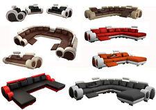 Eck -/Anbau-Sofas in aktuellem Design