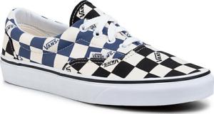 Vans Era Classic Slip On [VN0A4U39WRT] Skate BIG CHECK Navy CHECKERBOARD Shoe