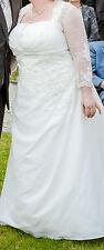 wunderschönes Brautkleid ivory 46 48