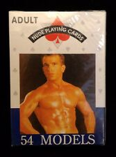 Adult Playing Cards 54 Sexy Male Models