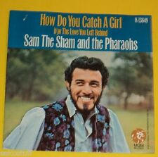 Sam The Sham - How Do You Catch A Girl / Love You Left Behind 1966 Picture Cover