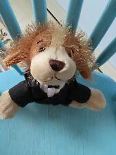 Webkinz Cocker Spaniel plush toy w/cute black outfit