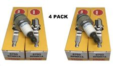 4 Ngk Spark Plugs Bpmr7a 6703 Solid Tip Terminal