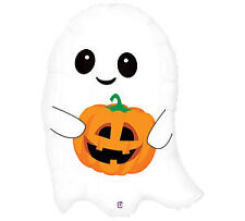 Pumpkin Fall Festive GHOST Cute Spooky Halloween Party Balloon Decorations