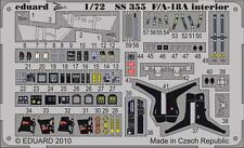 Eduard Zoom SS355 1/72 Academy F/A-18A Hornet