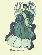Stained Glass Pattern Angel The Carousel Collection Angel Pattern