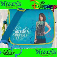 Disney Freizeittasche Wizards of Waverly Place 20187 Hellblau Die Zauberer light