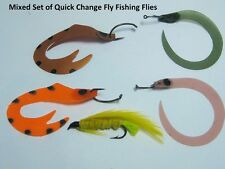 Mezz Fishing Tackle Quick Change Fly Fishing Flies (Mixed Set)