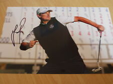 Signed Justin Rose 2012 Ryder Cup Golf 12x8 Photo - 2013 US Open Champion