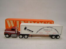 Winross Wolgemuth Auction Services Ford 9000 w/ Van 1989 Vgc in Box