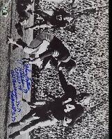 Johnny Lattner Signed 8x10 Photo Sop Cert Jsa Autograph Authentic