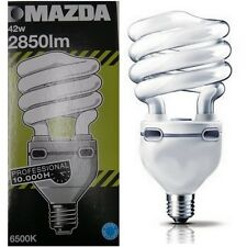 Philips Mazda 100w Cool Daylight 6500k Spiral Low Energy Light Bulb 865 SAD Lamp