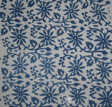 10 yards Indian Hand Maded Dabu Print cotton fabric hand block printed fabricArt