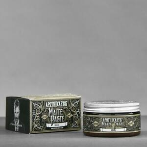 APOTHECARY 87 Matte Paste Mogul Pomade Wax Oil Base Clay Gel Hair Barber NEW