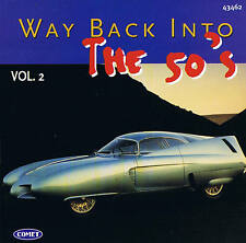 """Way back into the 50's """"VOL. 2"""" Top Oldies! CD 16 TRACKS NUOVO & OVP"""