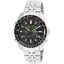Citizen Men's Promaster Air JQ8000-50E Silver Stainless-Steel Dress Watch
