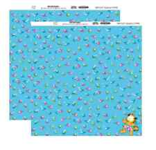 "Blue Sky Design 12"" x 12"" Garfield Fishes Scrapbook Paper"