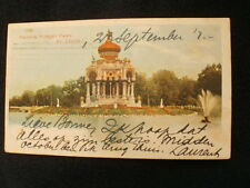 VERY OLD PPC~ST. LOUIS - MO~PAGODA~FOREST PARK~ca. 1902
