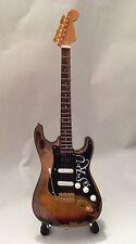Miniature Guitar Steve Ray Vaughan Fender Stratocaster