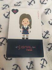 Twice Tzuyu Signal Character Official Photocard Card Kpop K-pop