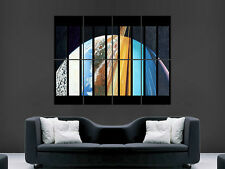 FACES OF THE PLANET  WALL POSTER ART PICTURE PRINT LARGE  HUGE
