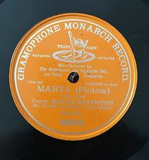"RARE ORANGE G&T 78RPM 12"" ONE SIDED MATTIA BATTISTINI MARTA FLOTOW MONARCH"