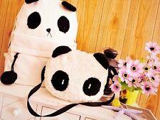 Set Femme Fille Panda Mother & Baby épaule Sac à Dos Bandoulière Fashion Cadeau