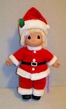 "PRECIOUS MOMENTS SANTA DOLL 12"" Tall CHRISTMAS 1998"