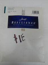 HANES RESILIENCE STRONG & SHEER CONTROL TOP ENHANCED TOE PANTYHOSE SIZE AB PEARL