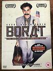 Sacha Baron Cohen BORAT 2006 Hilarant Comédie Edition Limité GB DVD with Housse