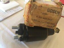 Bosch Starter Solenoid P/N 0 331 402 042 Bosch NOS