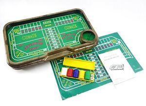 Auto Shooter Auto Craps Table Mini Casino Games Vintage Retro Hong Kong