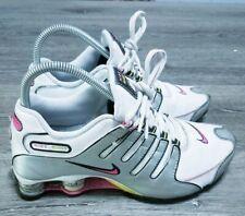 Nike Shox NZ SL Women's Size 7.5 White Pink Silver Running Walking Shoe Rare