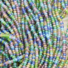 """8/0 Summer Beach Glass Mega Mix Czech seed beads - 1 HANK - 6/20"""""""