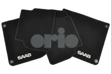 Genuine Saab 9-3 4 door/5 door MAT Set - 2008-2012 12825833 BRAND NEW - BLACK