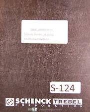 Schenck Ar 23235 Balancing Machine Users Instruction Manual 1954